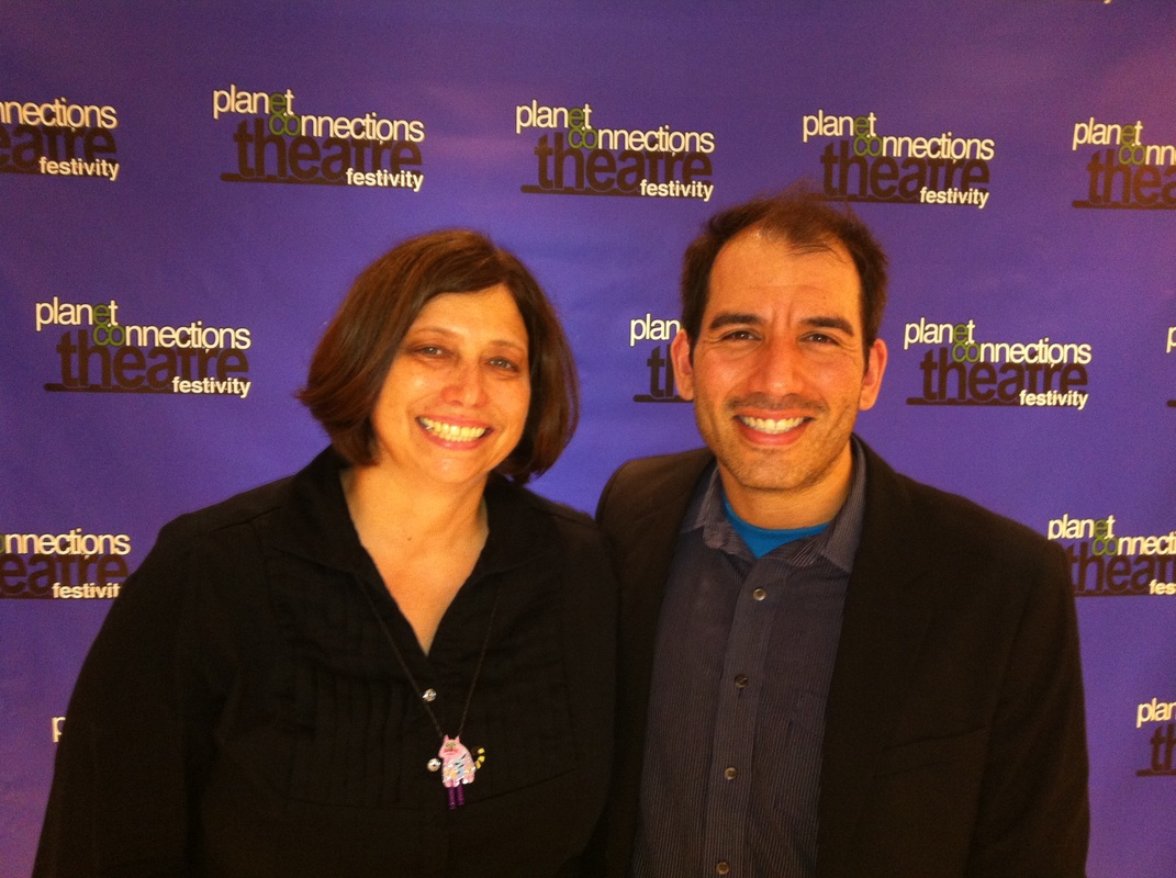 (Dramaturge) Kathleen Potts and (Book Writer) Mark-Eugene Garcia